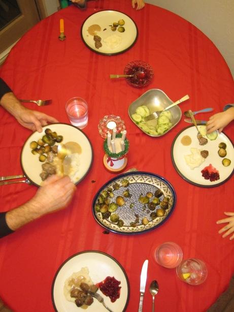 Santa Lucia meal
