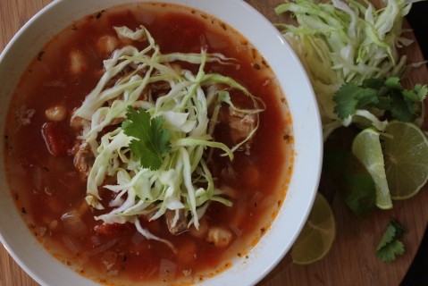 Pozole Rojo from My Pantry Shelf