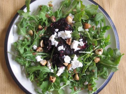 Roasted Beet And Hazelnut Salad With Feta My Pantry Shelf