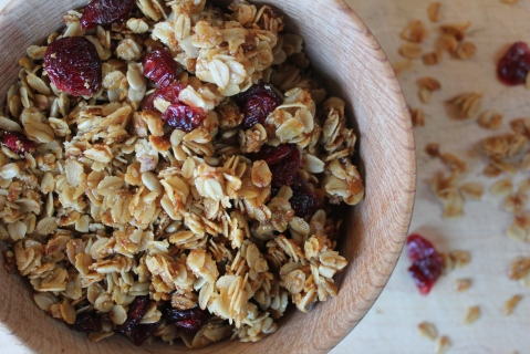 Giftable Granola from My Pantry Shelf