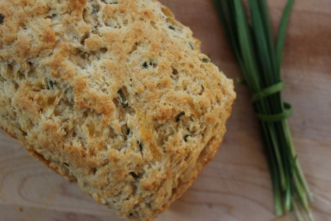 Cheddar Chive Cheese Bread