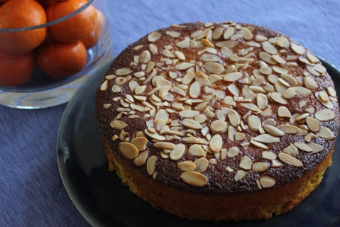 Flourless Almond Orange Cake from My Pantry Shelf